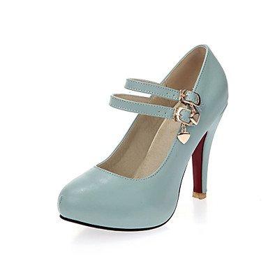 Zormey Women'S Shoes Stiletto Heel/Round Toe Heels/Party &Amp; Evening/Dress Blue/Pink/White US3.5 / EU33 / UK1.5 / CN32