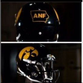 Iowa Hawkeyes Riddell Speed Mini Replica Anf Football Helmet