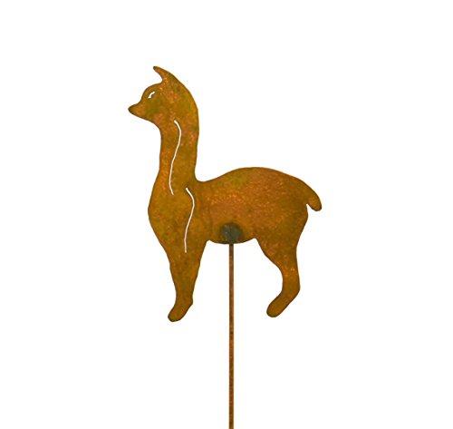 Llama Decorative Metal Garden Stake