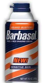 Barbasol Shave Cream for Sensitive Skin-11 oz