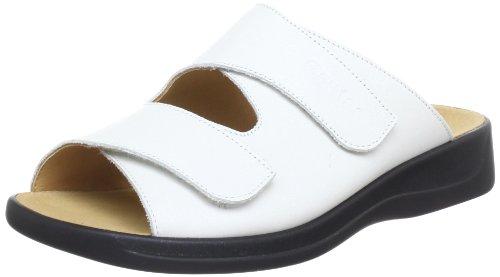 Weiss 0200 Blanc Mules 02000 5 202501 femme Ganter n0w7YFaUqw