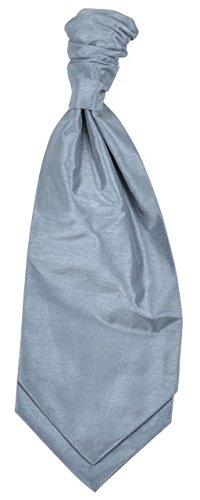 Standard Pre Grey Tied Cravat Tie Ruched Dark Mens Bfwdpqq