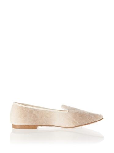 Jonny's Vegan Damen Schuhe Ballerina BL1415N Slipper Natalie beige