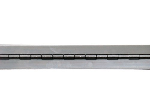 Stainless Steel 304 Continuous Hinge without holes, Unfinished, 0.07