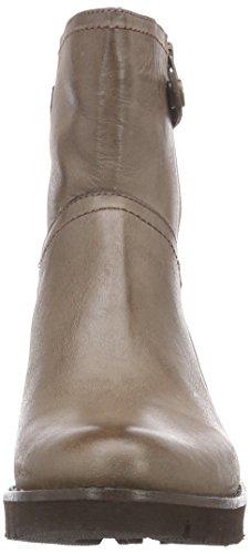 XYXYX Booty - botas de cuero mujer marrón - Braun (Lt Brown)