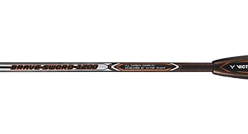 Victor Brave Sword 1100 with cover Strung Badminton Racket Racquet