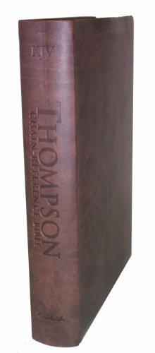 Download Thompson Chain Reference Bible (Style 537brown index) - Handy Size KJV - Deluxe Kirvella by Frank Charles Thompson published by B.B. Kirkbride Bible Company (2011) [Leather Bound] PDF ePub fb2 ebook