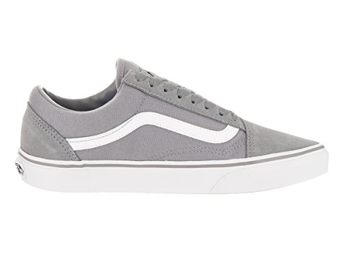 White Old true Ua Sneakers Gray Basses Skool Vans suede Frost Homme canvas qPSvx54wA