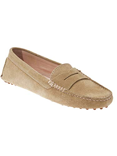 Mocassins Leather Bobbies Champagne Parisienne Suede La nT0WW6qAwS