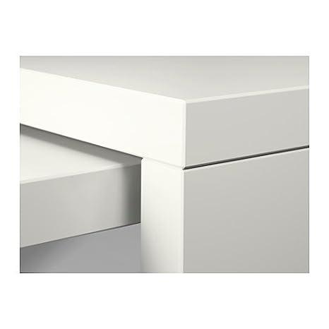 IKEA escritorio con pull-out Panel, blanco 30210.5145.206: Amazon ...