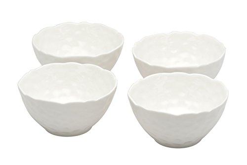 "Red Vanilla RV750-410 4.5"" Marble Rice Bowls , 8 oz, White"