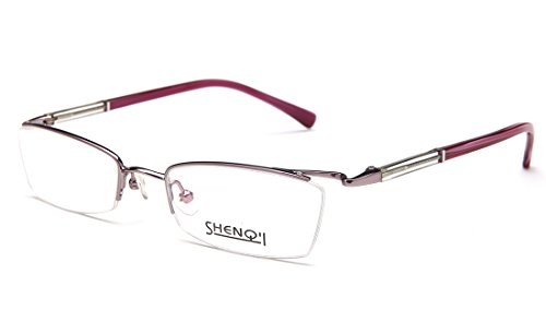 Laura Fairy Women's/ladies' Stainless Steel Semi Rimless Eyeglasses - Online Rimless Eyeglasses Semi