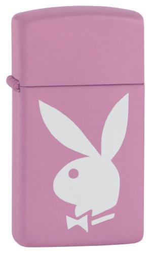 Zippo Playboy Pink Matte Pocket Lighter (Zippo Pink Matte)