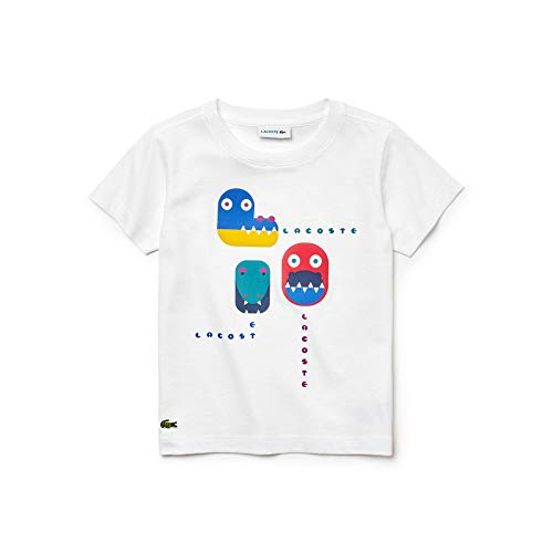 Lacoste bambini Tj9877 T bianca per shirt rqnrzP0