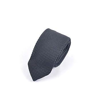 Corbatas para hombre Color sólido ocasional de la corbata de los ...