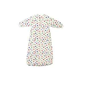 Slumbersac Winter Travel Baby Sleeping Bag Long Sleeves approx 35 Tog Bubble Dot various sizes from birth up to 3 years