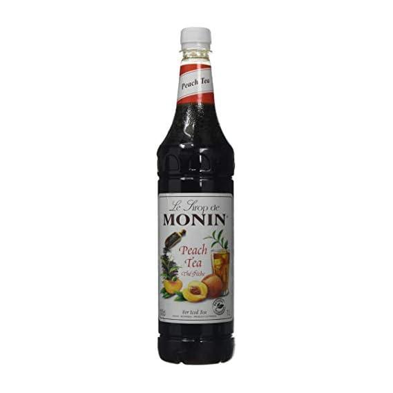 Monin Peach Tea Syrup 1 LTR