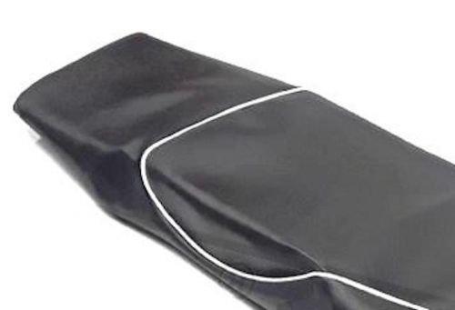 Rivestimento Sella Sedile Sella Coprisella NERO PER VESPA GTS 250/300/ fino a 2014