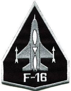 Used, F-16 Fighting Falcon Usaf Air Force Jet Aircraft Applique for sale  Delivered anywhere in USA