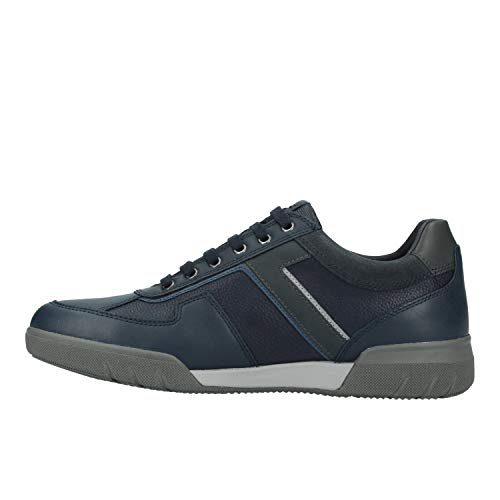 A Geox ABX Herren Blau Navy C4002 Sneaker B Redward U XZ74Xf