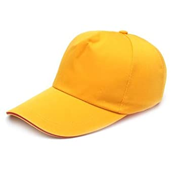 Yellow TuToy Bump Cap Baseball Style Hard Hat Safety Head Protection Lightweight Helmet