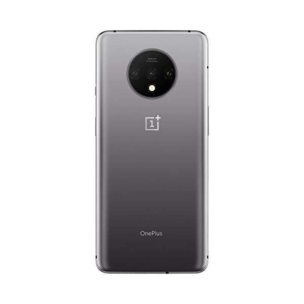 (Renewed) OnePlus 7T (Frosted Silver, 8GB RAM, Fluid AMOLED Display, 128GB Storage, 3800mAH Battery)