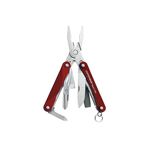 Leatherman - Squirt PS4 Multi-Tool, Red