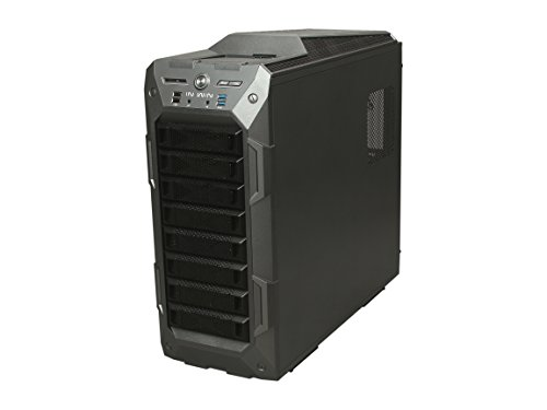 InWin GR One/Gray Sleek SECC ATX Full Tower Computer Case ATX 12V/EPS Power Supply Compatible by InWin (Image #2)