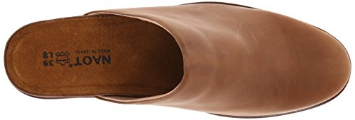 Naot Womens Evening Wedge Pump Zadel Bruin Leer