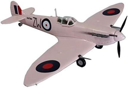 1/72スケール戦闘機プラモデル、軍事イギリスのスピットファイアMKV RAF140アダルトグッズやギフト、6.8Inch X6
