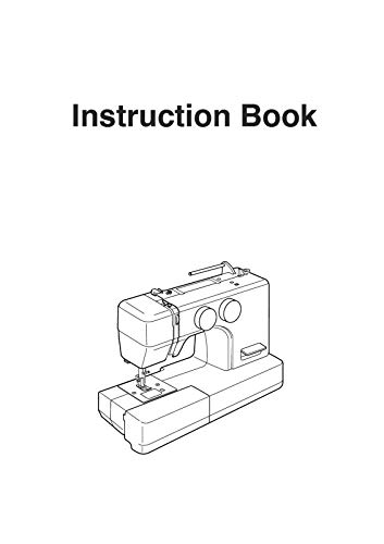(Janome Spare Part 5812 Sewing Machine Instruction Manual Reprint)