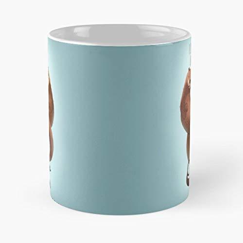 Otter Fur Cute Love - Best Gift Ceramic Coffee Mugs 11 Oz ()