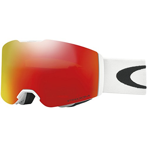 Oakley Fall Line Snow Goggles, Matte White Frame, Prizm Torch Iridium Lens, - Oakley Deal