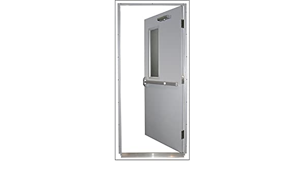 Quick Mount Steel Door and Frame, RRH, 36 x 84 in, 16-Gauge Steel, on