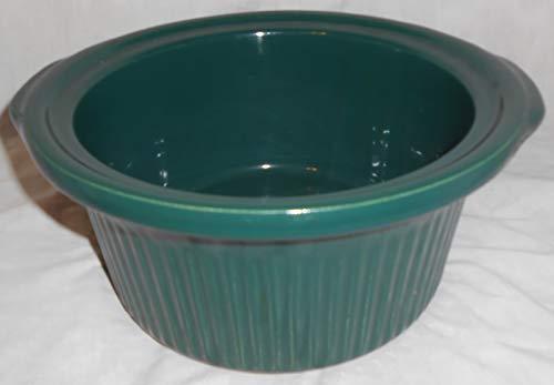 Rival Slow Cooker Crock Pot Model 3250 Original Ceramic Stoneware Liner Insert Green