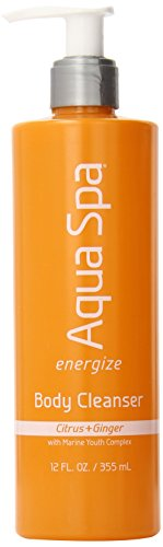 Energize Beauty Body Wash - Aqua Spa Energize Body Cleanser, 12 Fluid Ounce