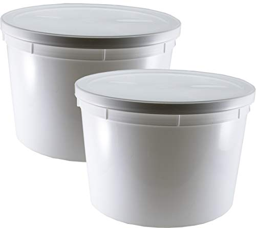 5-Quart Dough Rising Bucket With Lid: Fits Instant Pot Model DUO80