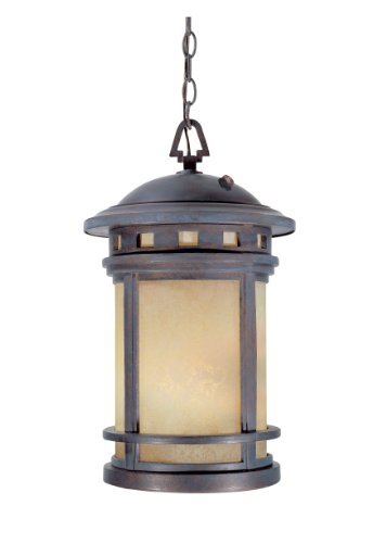Designers Fountain 2394-AM-MP Sedona Hanging Lanterns, Mediterranean Patina