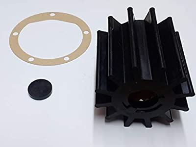 Raw Sea Water Pump Impeller Kit Replaces Jabsco 17936-0001-P
