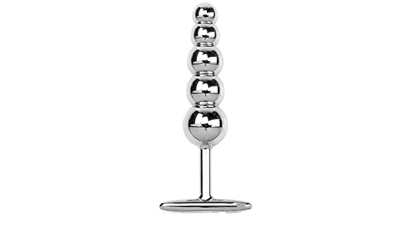 Amazon.com: Jasminelover®metal Beads Anal Butt Plug Bead Anal Trainer Women Stainless Steel 5 Bead Plug a String: Health & Personal Care