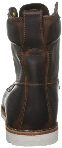 "Timberland EK2.0 RUGWP 6""PTB DK BRN 74161 - Botas de cuero para hombre Marrón (Braun/Dark brown Burnished Sm)"