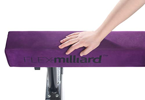 Milliard Adjustable Balance Beam, High and Low [8 Feet] Floor Beam Suede Gymnastics Competition Style Training with Legs by Milliard (Image #6)