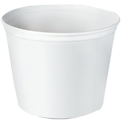 SCC5T1UU - Double Wrapped Paper Bucket, Unwaxed, White, 83 (Double Wrapped Paper Bucket)