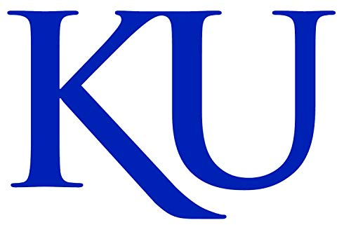 SellingDecals ncaa0029 University Kansas Jayhawks KU Die Cut Vinyl Graphic Decal Sticker NCAA Color Choice 8
