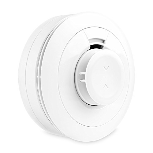 Samsung - SmartThings ADT Smart Smoke Alarm - White