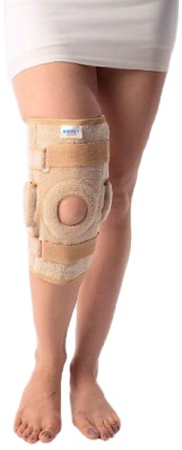 79f6c93d94 Image Unavailable. Image not available for. Colour: Vissco New Hinged  Elastic Support with Open Patella ...