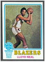1973 Topps Regular (Basketball) card#129 Lloyd Neal of the Portland Trail Blazers Grade ()