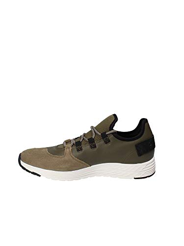 Zapatillas Verde 8fmiami03 Blauer 40 lea Militar Hombre SZwH6xxq0C