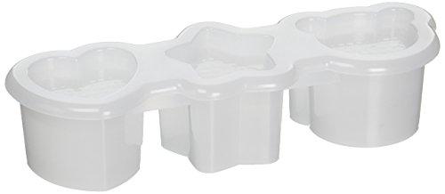 Imonata 1506 Sushi Mold Rice Ball Maker with Three Shapes, White