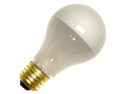 12 Qty. Halco 60W A19 FR SIL BOWL 130V Prism A19FR60/SB 60w 130v Incandescent Inside Frost Silver Bowl Prism Lamp Bulb